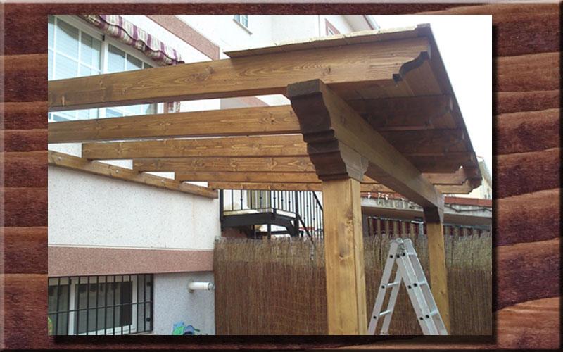 construir un porche de madera paso a paso